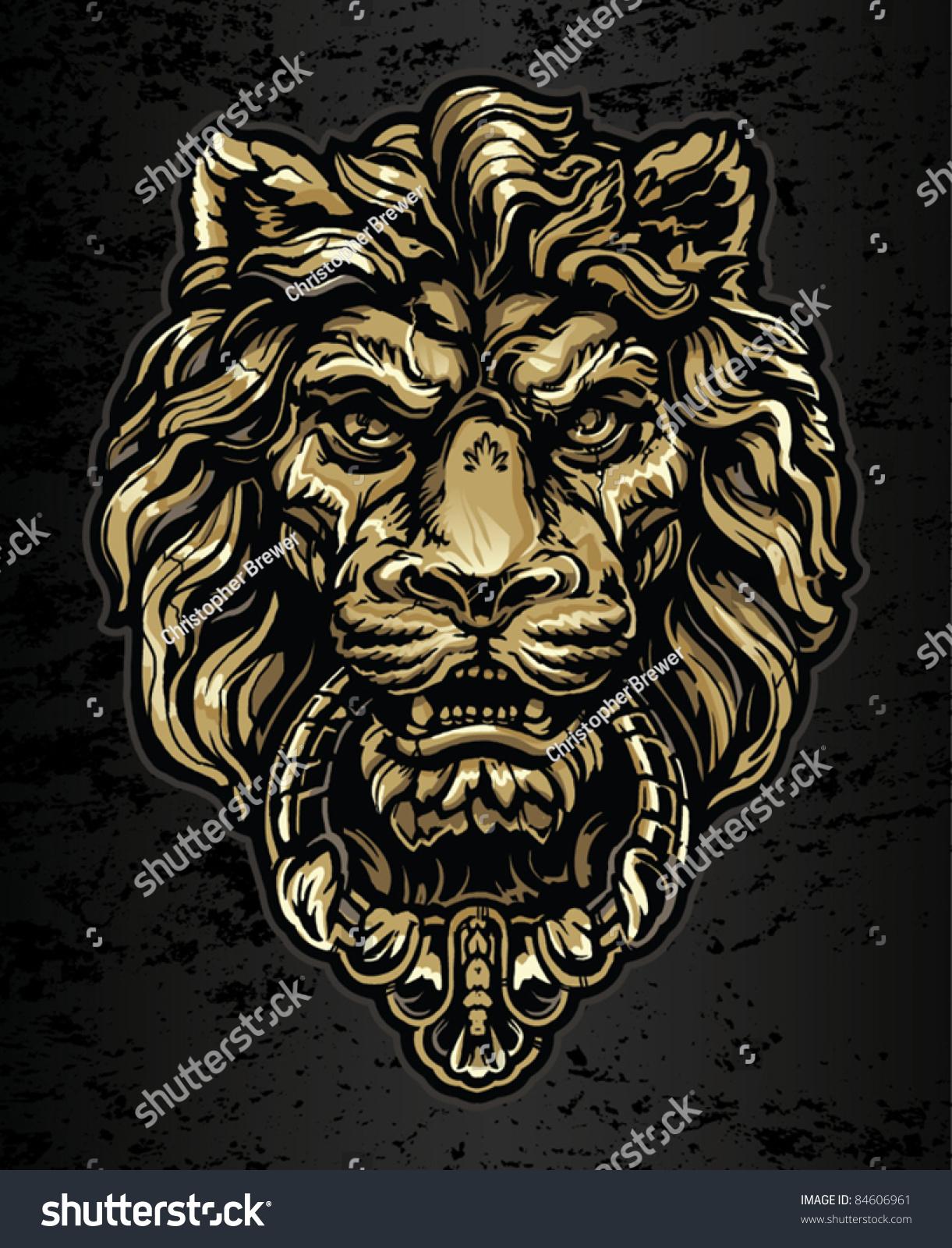 Lions Head Door Knocker Lion S Head Door Knocker A Pitch