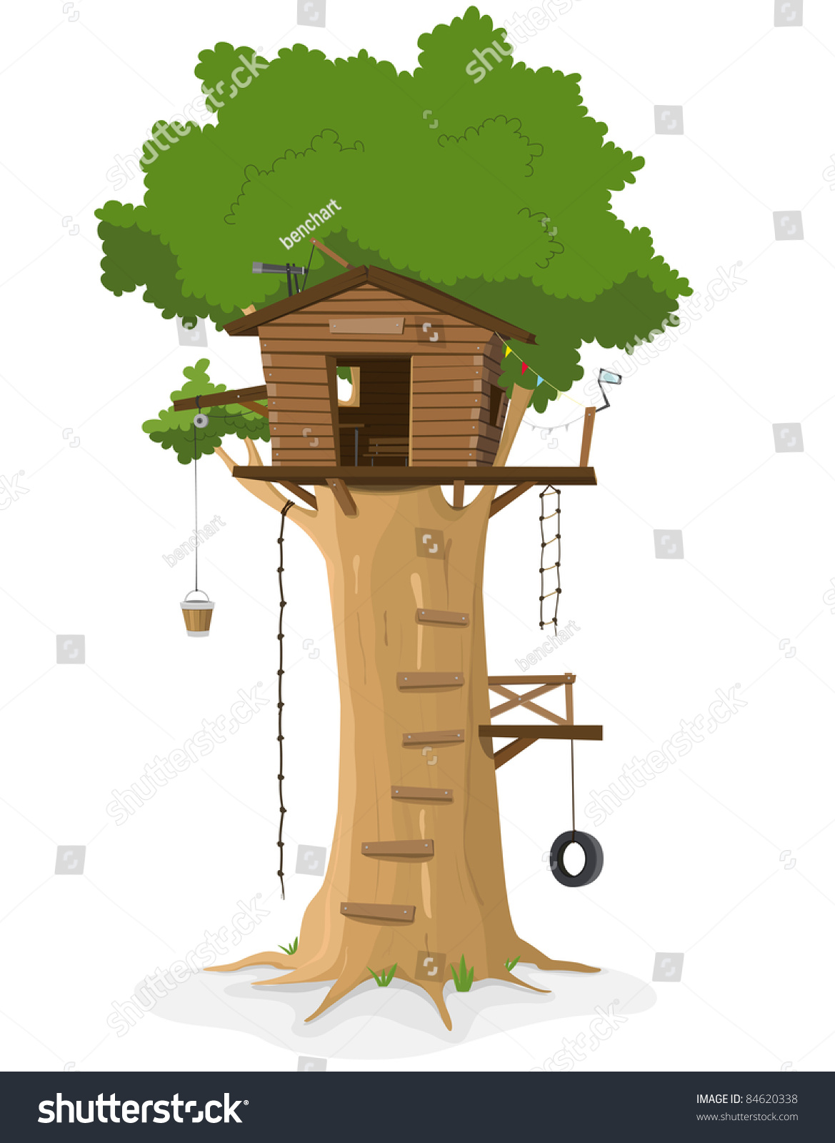 clipart pictures tree house - photo #45