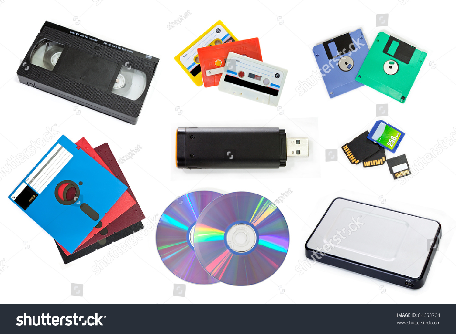 Different Types of Computer Storage Devices