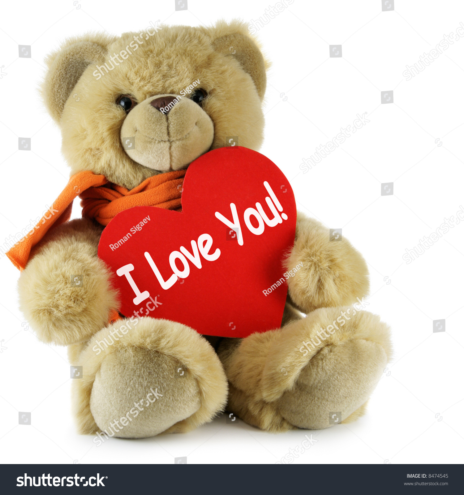 teddy bear big red heart text stock photo & image (royalty-free