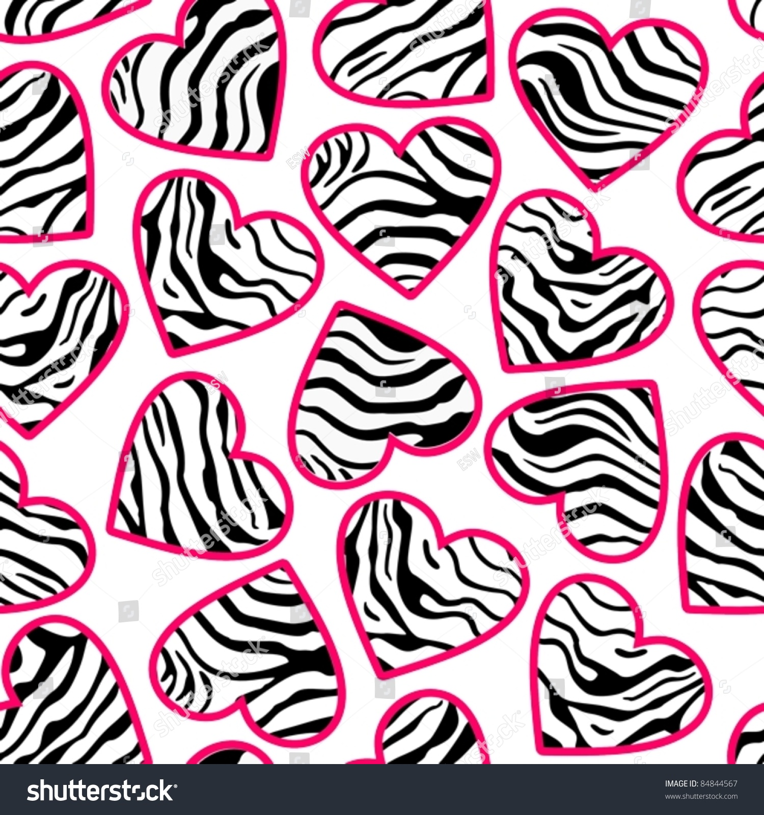 zebra print hearts seamless abstract background stock photo photo rh shutterstock com zebra print seamless vector