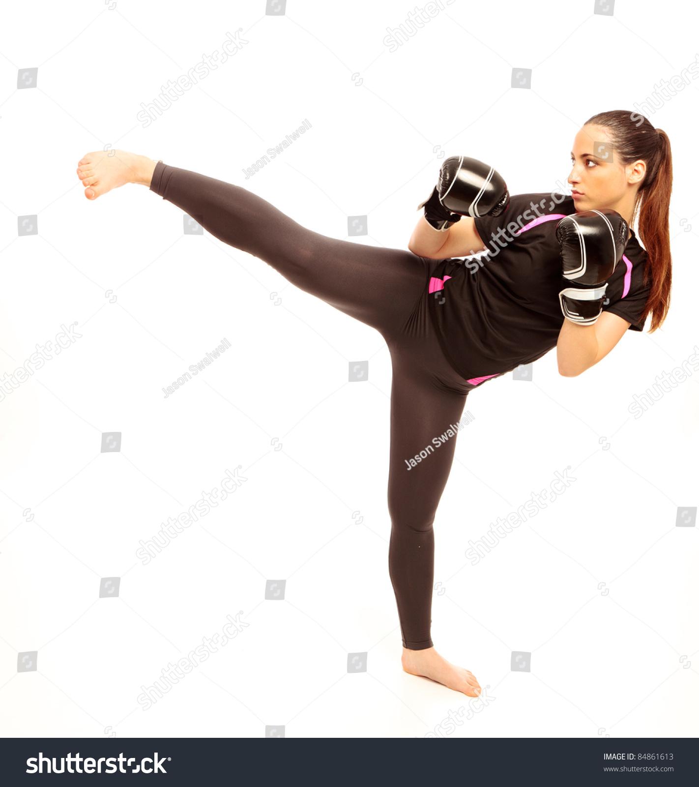 naked martial art photography women