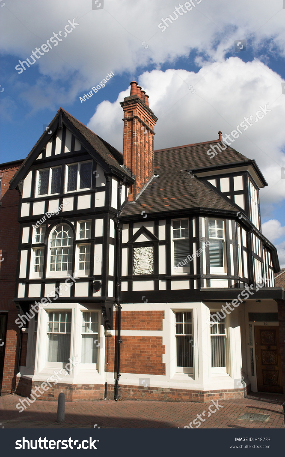 Nice Looking House Stock Photo 848733 Shutterstock