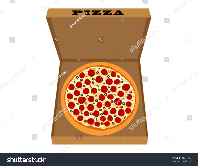 pizza box clipart free - photo #30