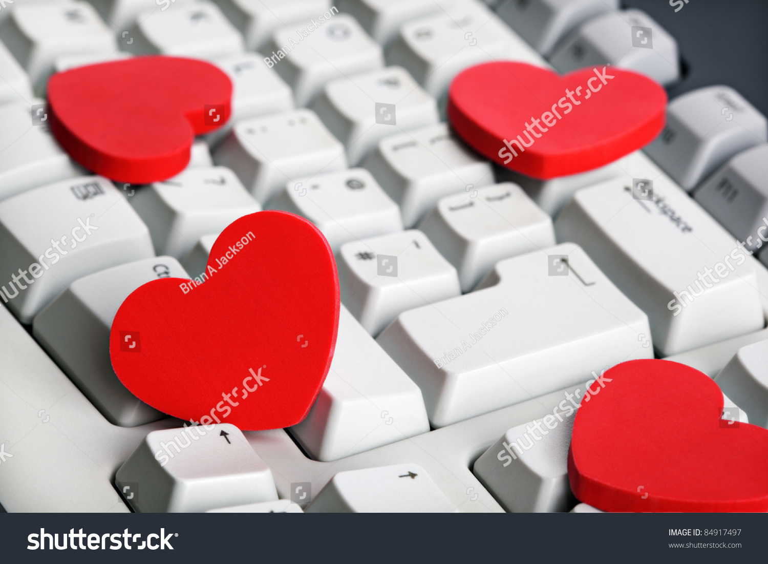 Love online dating concept red heart stock photo 84917497 shutterstock love or online dating concept red heart shape symbol on white computer keyboard buycottarizona Choice Image