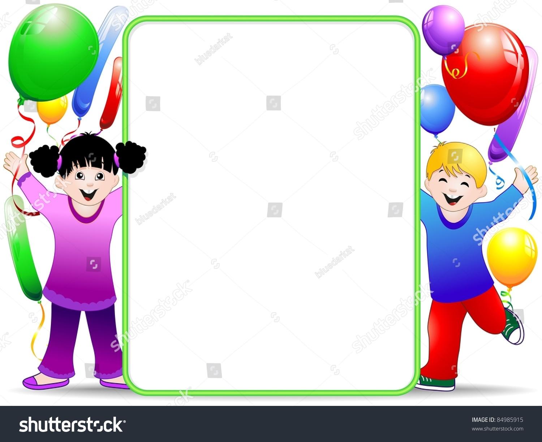 kids birthday background