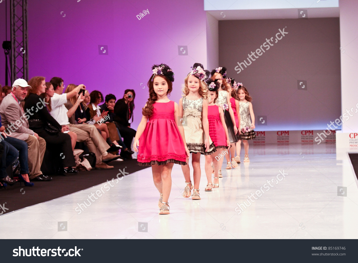 Moscow September 7 Barcarola Clothing Collection At The International Exhibition Of The