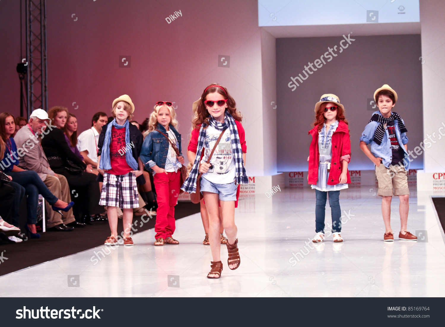 Moscow September 7 Mayoral Clothing Collection At The International Exhibition Of The Fashion