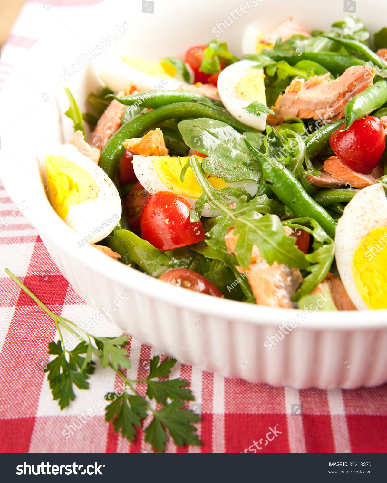Paleo diet style green bean salad stock photo 85213870 for Style green