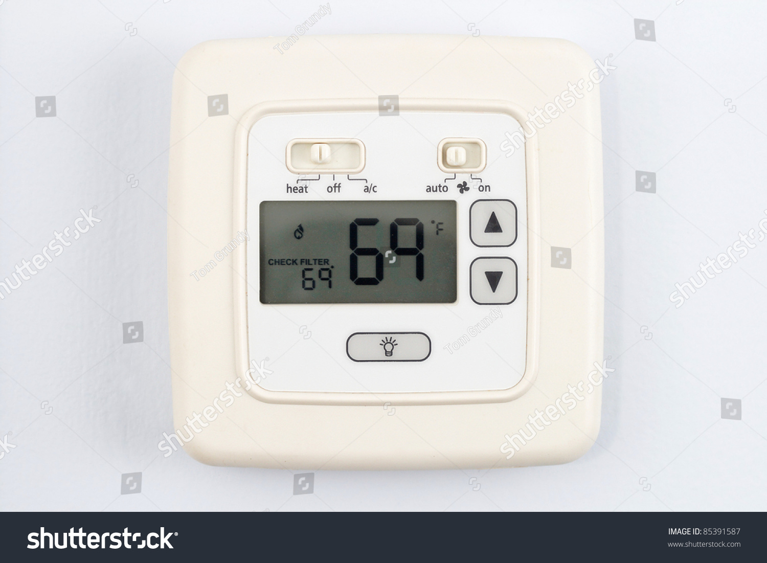 how to set ouellet thermostat