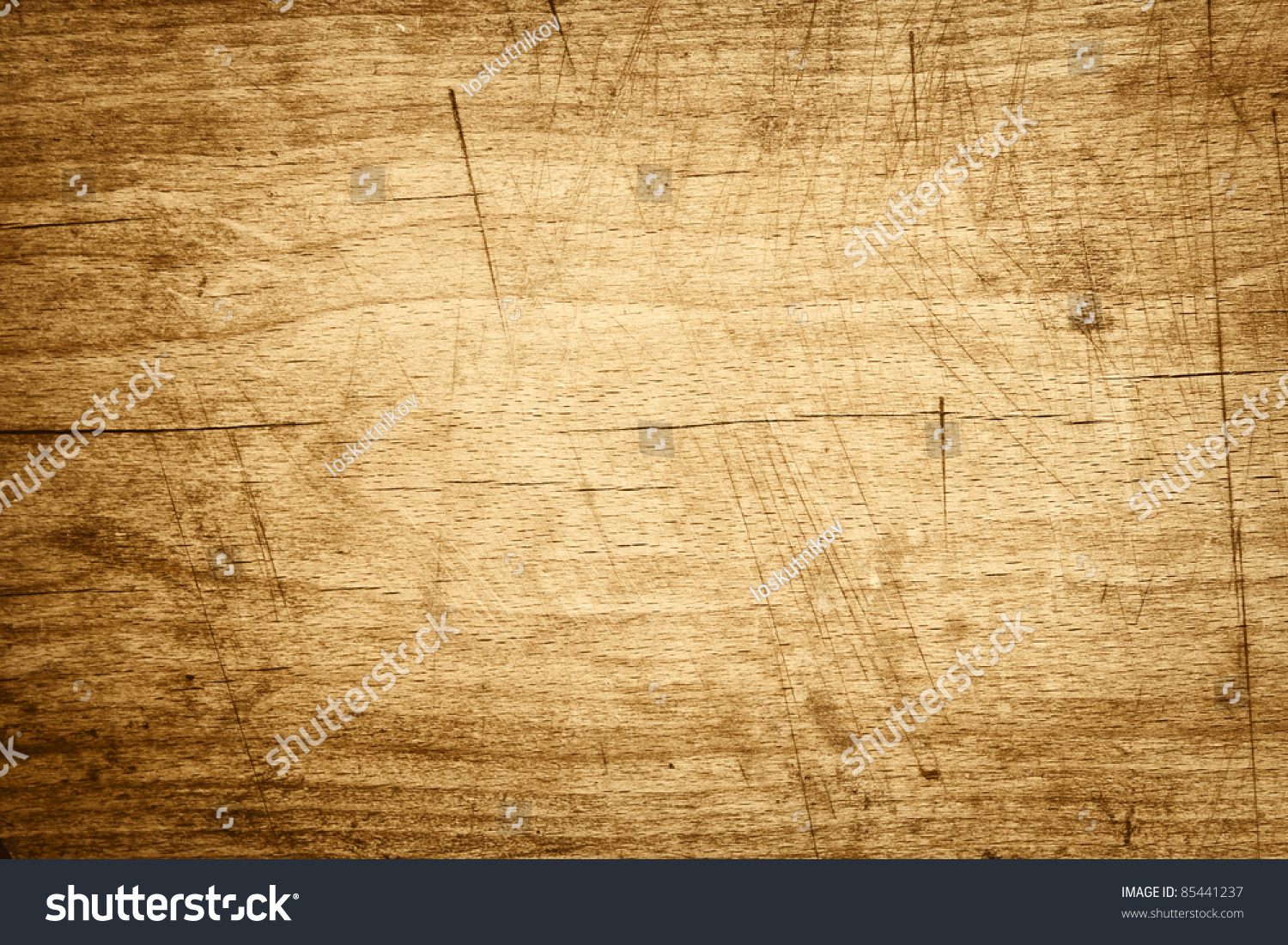 Old Wood Board ~ Old wooden board background stock photo