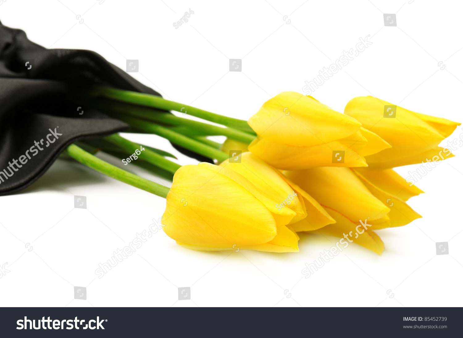 Bouquet yellow flowers funeral isolated on stock photo 100 legal bouquet of yellow flowers for a funeral isolated on a white background izmirmasajfo