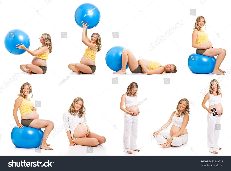 Упражнении во время беременности с картинками