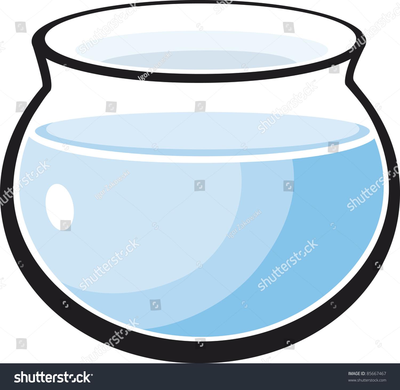 Empty fish tank cartoon the image kid for Empty fish tank