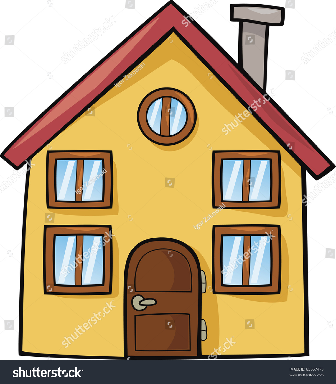 cartoon clipart of houses - photo #40