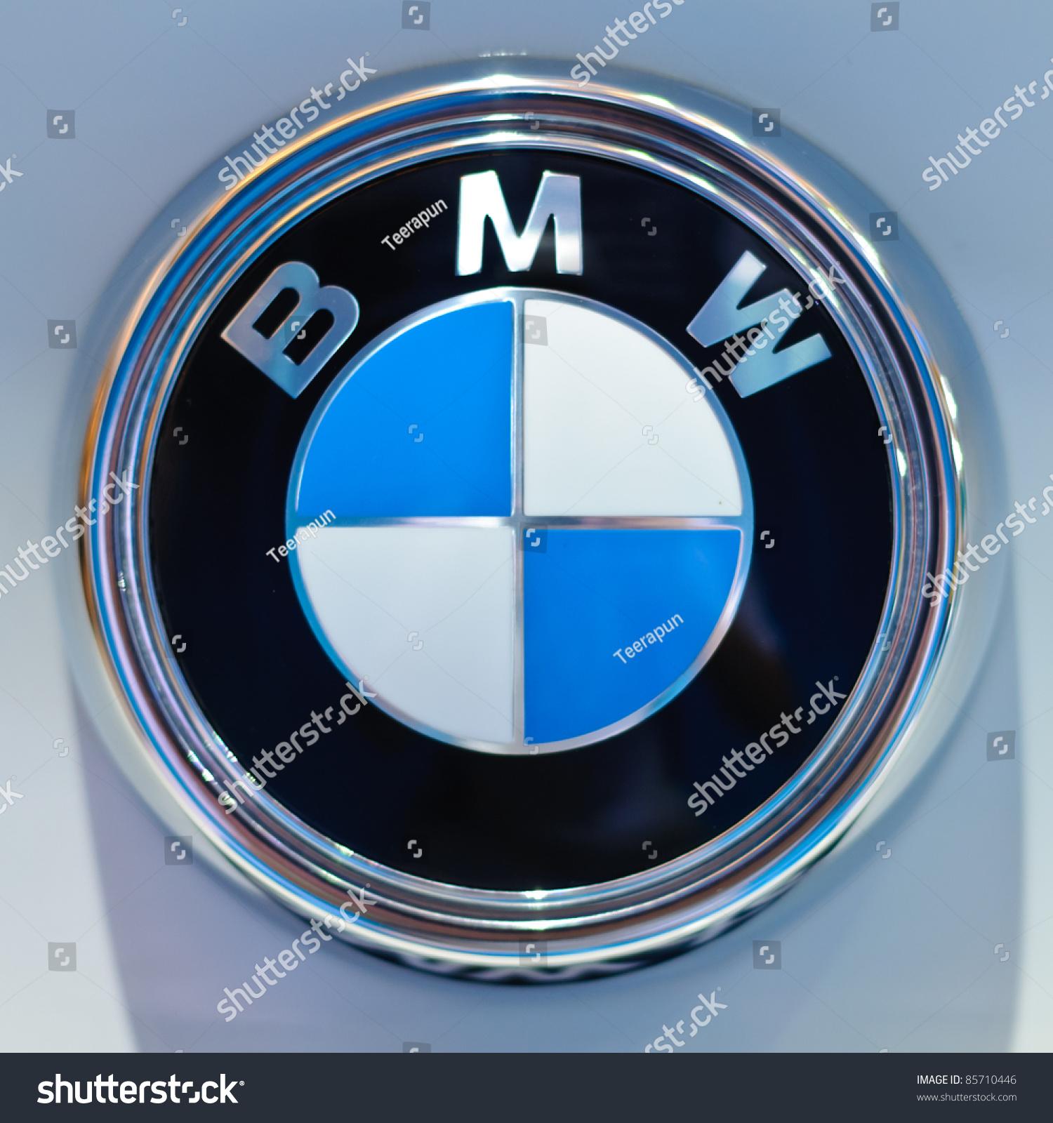 Bangkok September 25 Logo Bmw On Stock Photo Edit Now 85710446