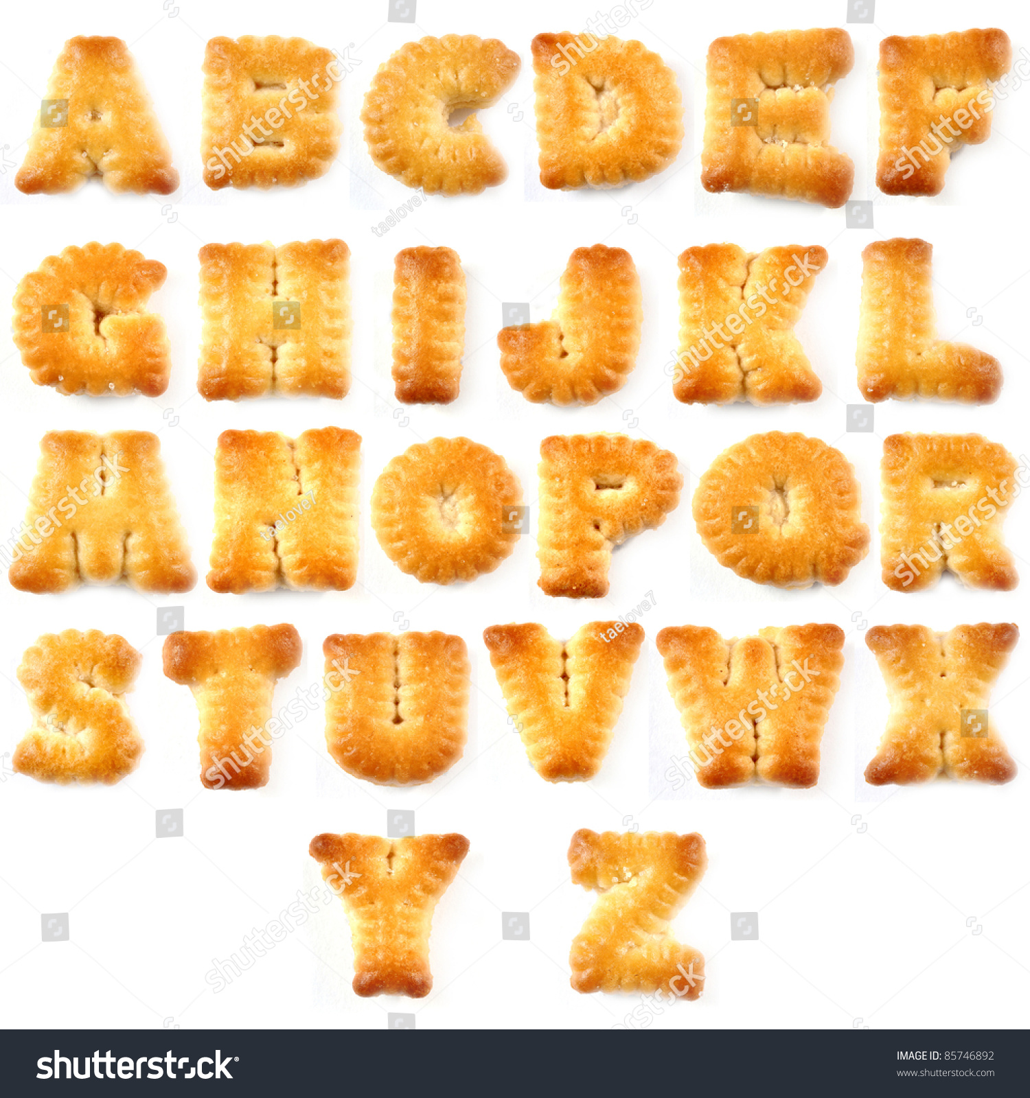 biscuits letters words az stock photo 85746892 shutterstock biscuits letters words a z