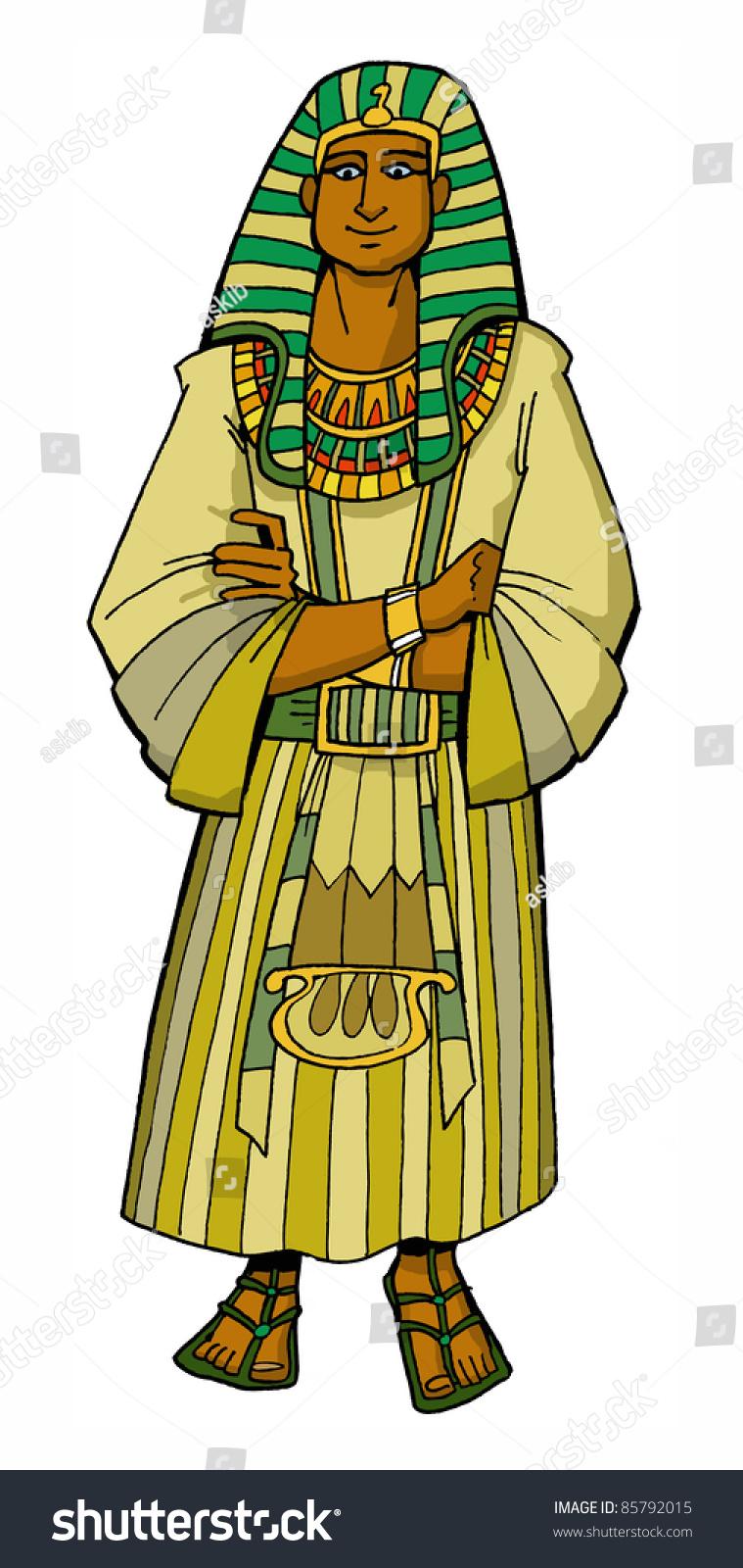 bible hero patriarch joseph egyptian ruler stock