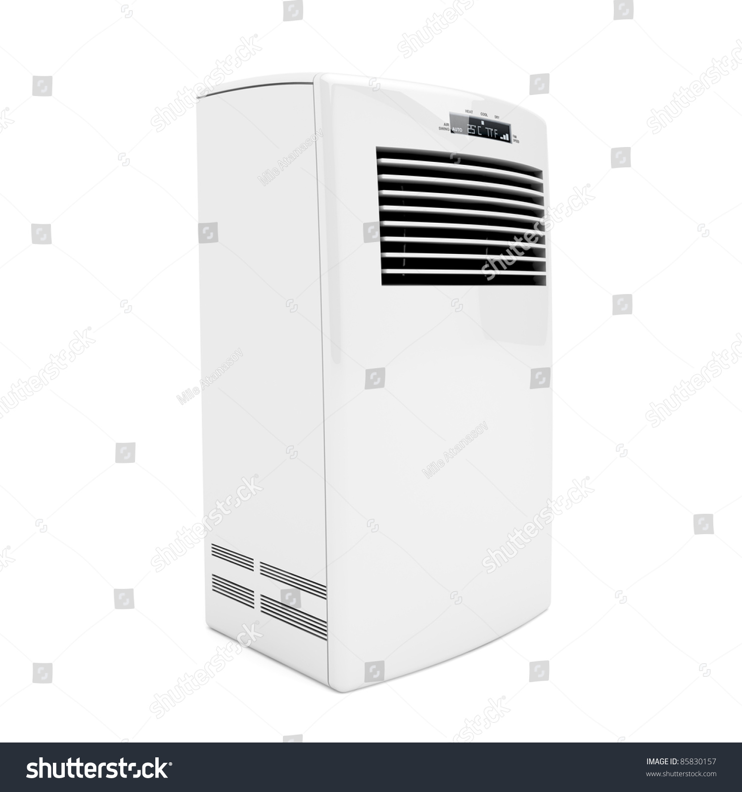 3d Image Of Portable Air Conditioner Stock Photo 85830157  #20252D