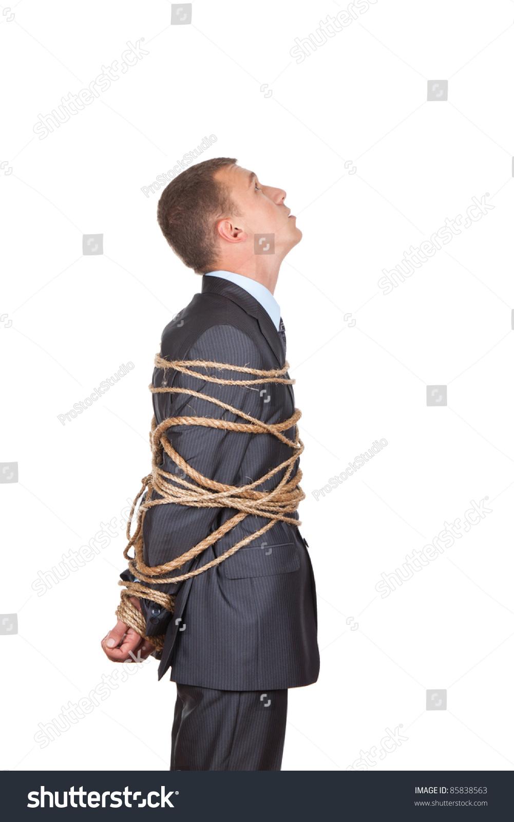 Knot tying instructions bondage slave