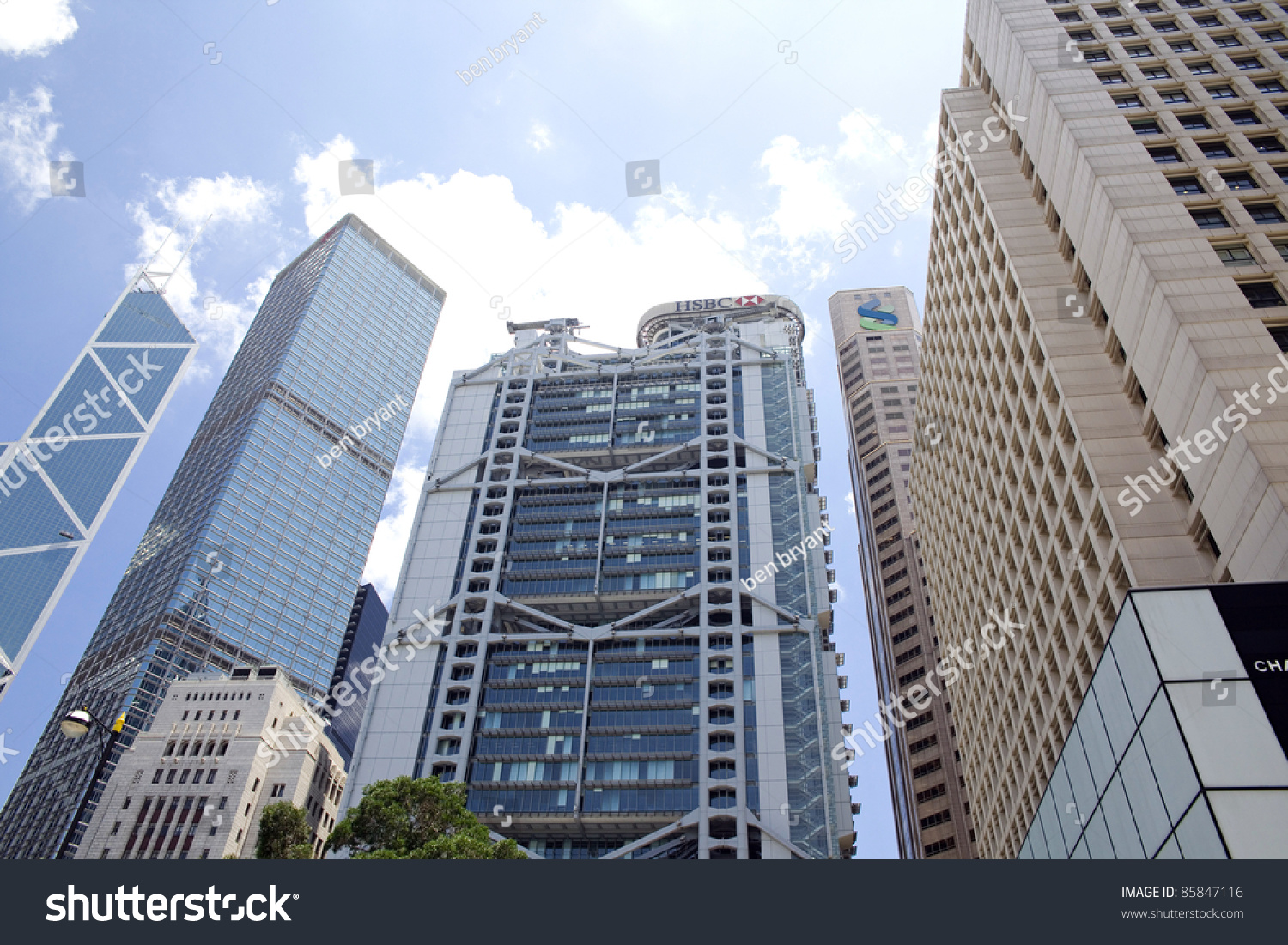 Hong kong july 5 the hsbc main building headquarters of the hsbc limited in central hong - Hsbc hong kong office address ...