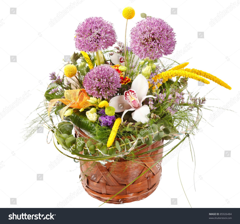 Beautiful flowers basket stock photo edit now 85926484 shutterstock beautiful flowers in the basket izmirmasajfo