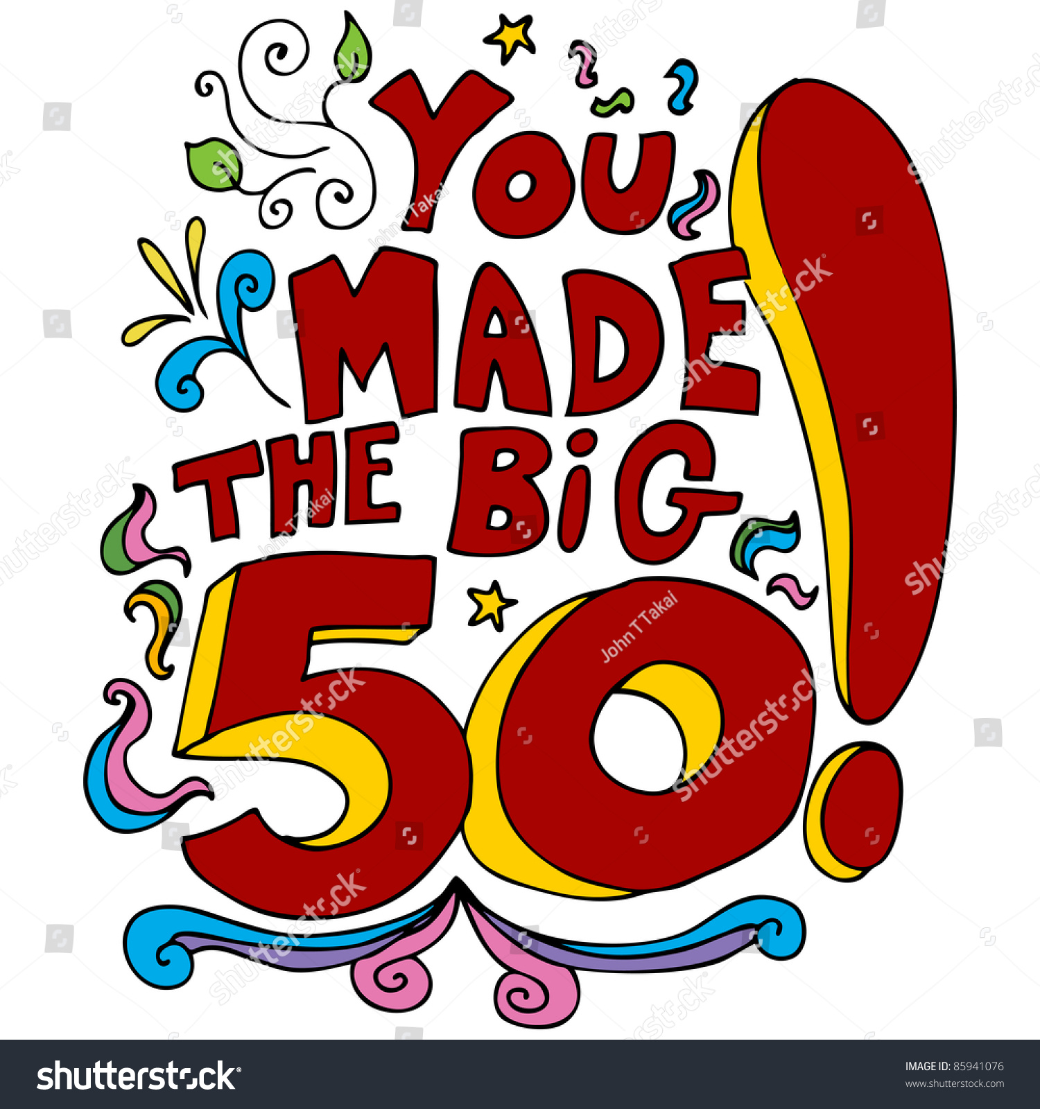 36 50th Birthday Party Cartoons Car Pictures