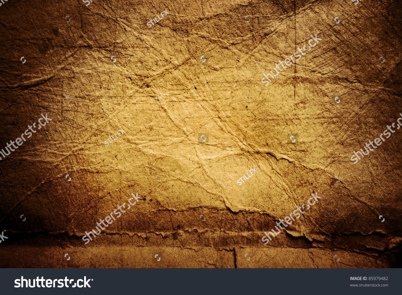 Rough Texture Background: Closeup Rough Brown Paper Texture Background Stock Photo