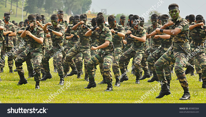 Kuala Lumpur Malaysia Sept 30 Battalion The Arts Stock Image 85985584