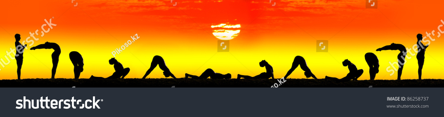 Ten Steps Of Surya Namaskar, Sun Salutation Exercises By ...