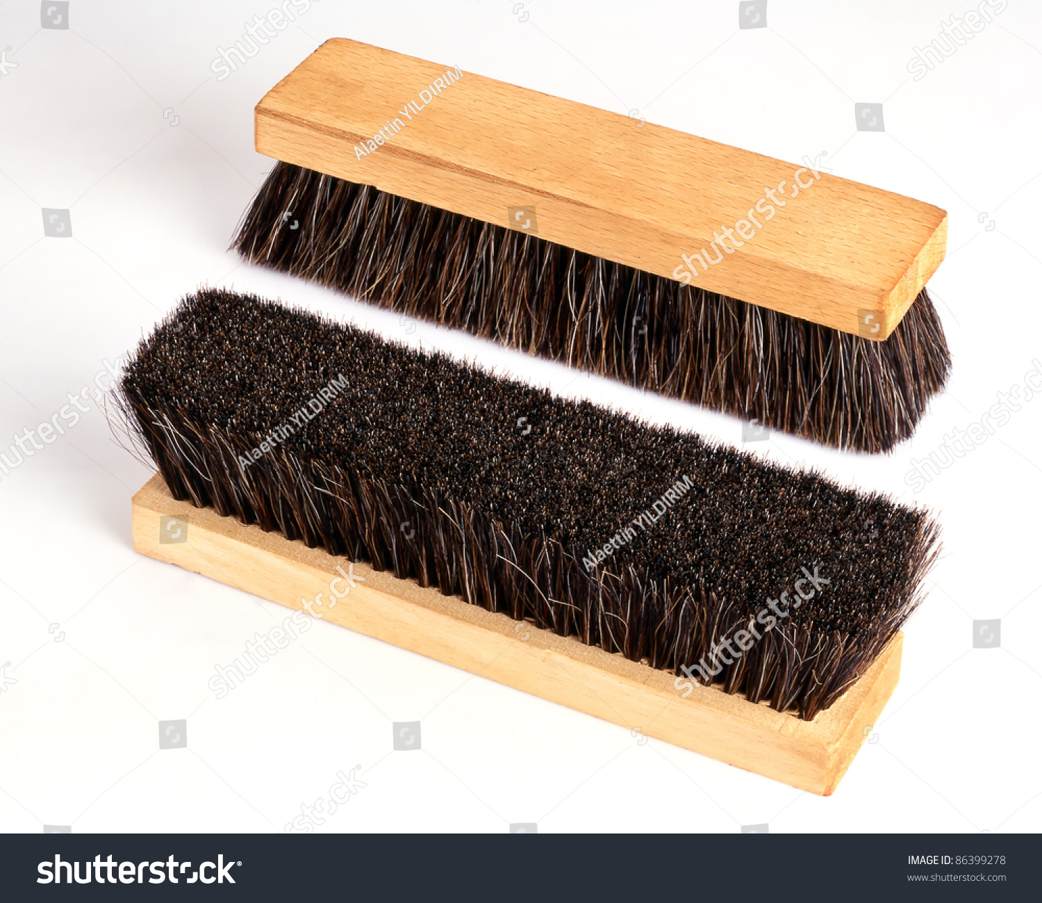 how to clean a wooden brush