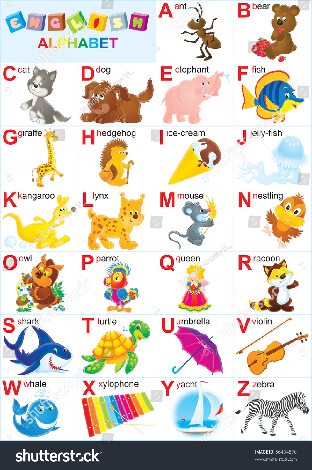 Place Start With Letter Y