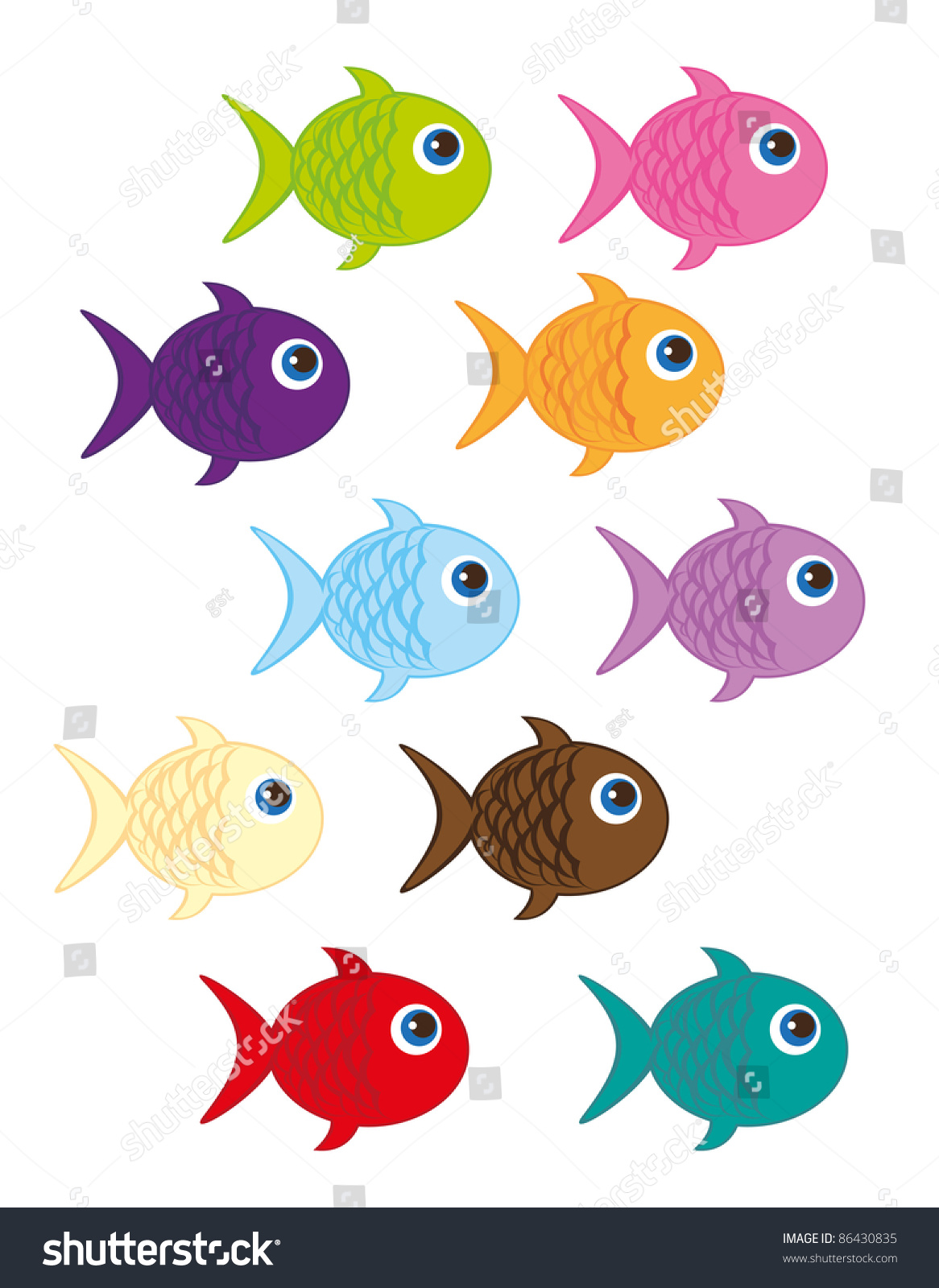 Pin Cute Cartoon Fish Pictures On Pinterest