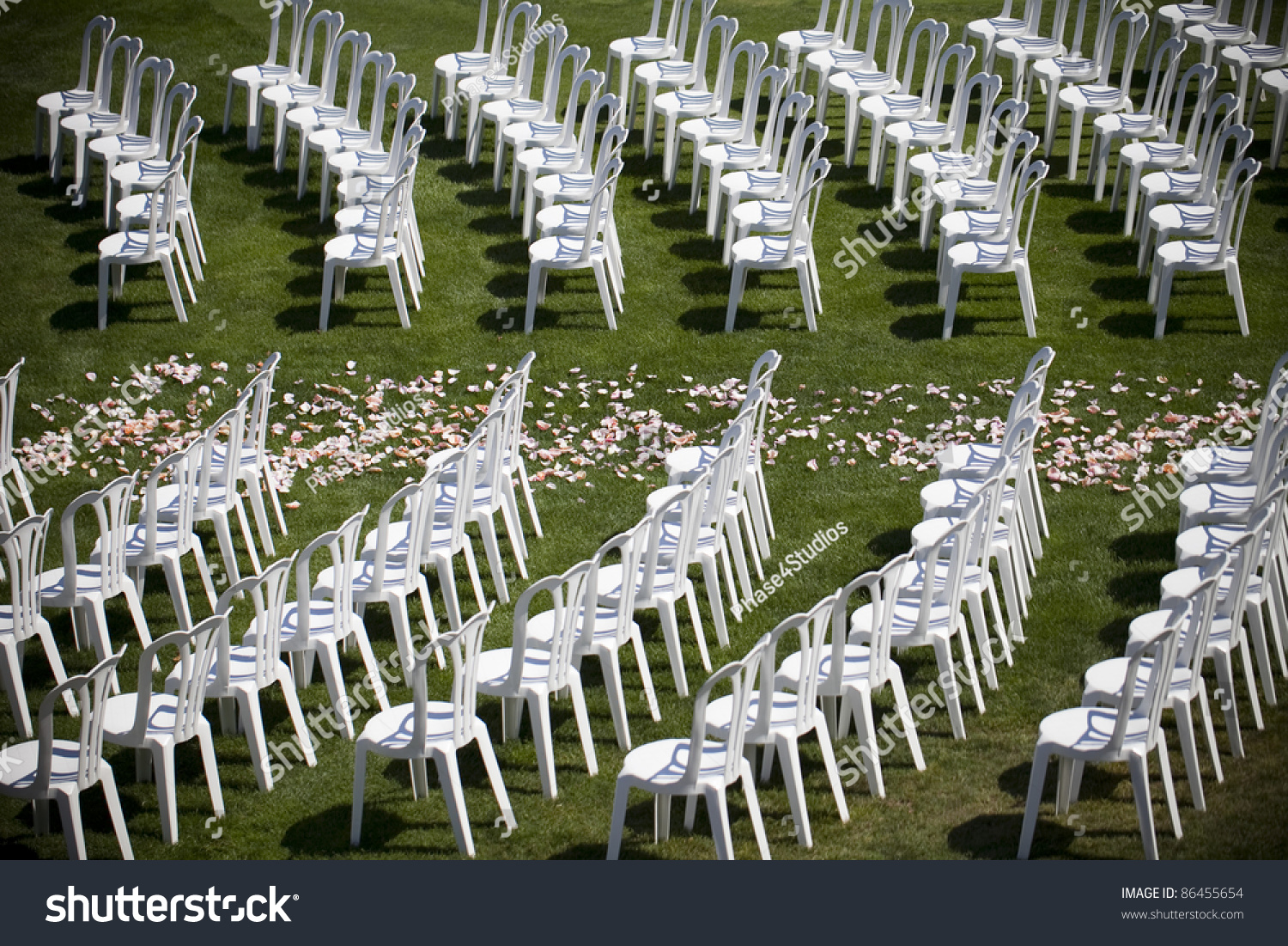 Wedding ceremony chair - Wedding Chairs Set Up Before The Ceremony Preview Save To A Lightbox