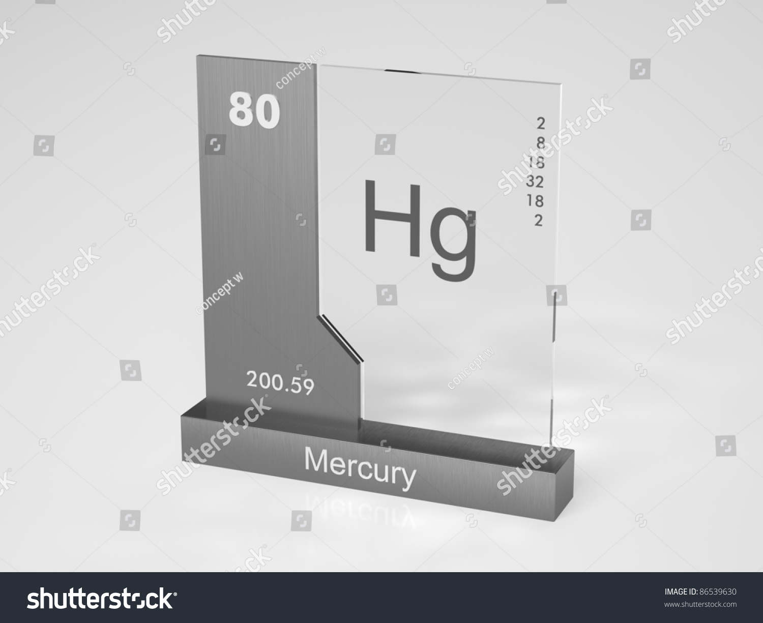 Mercury symbol hg chemical element periodic stock illustration mercury symbol hg chemical element of the periodic table gamestrikefo Image collections