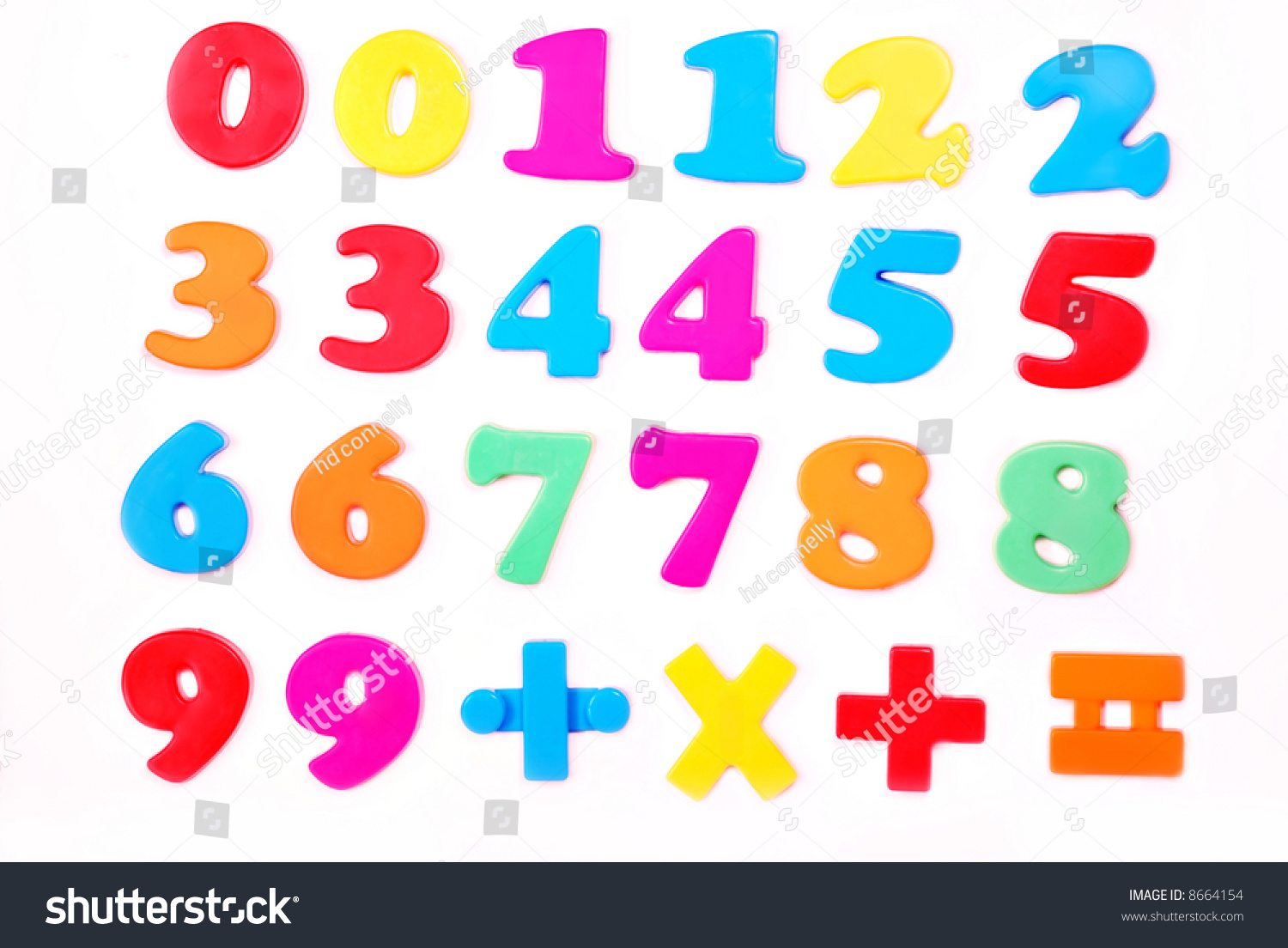 Colorful numbers math symbols isolated on stock photo 8664154 colorful numbers and math symbols isolated on white biocorpaavc