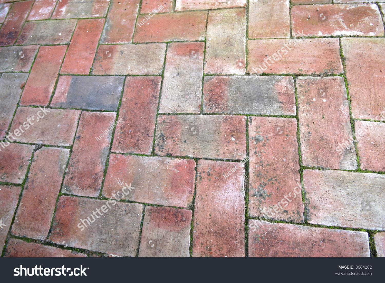 Problems With Brick Floors : Old brick floor stock photo  shutterstock