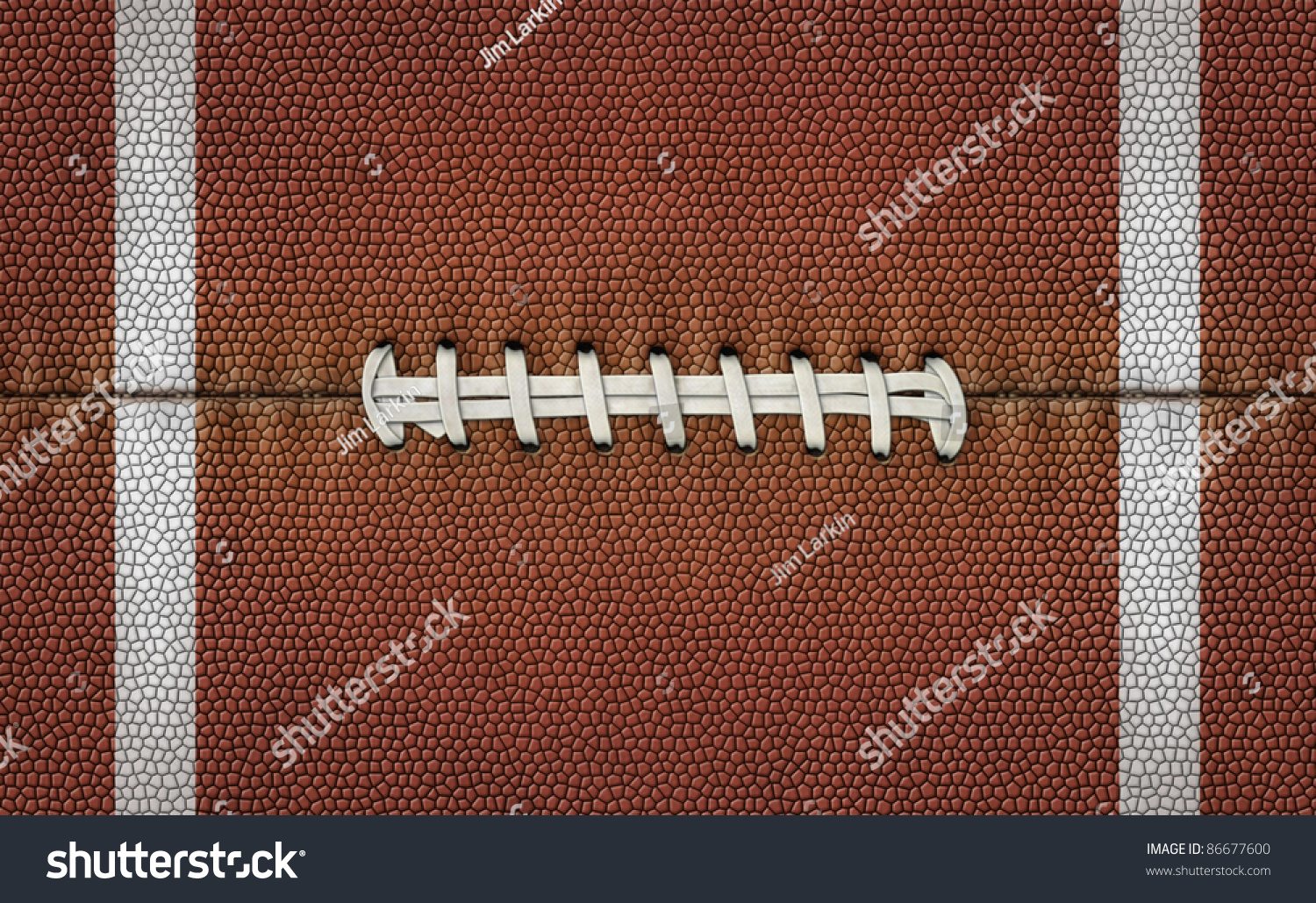 Football laces texture