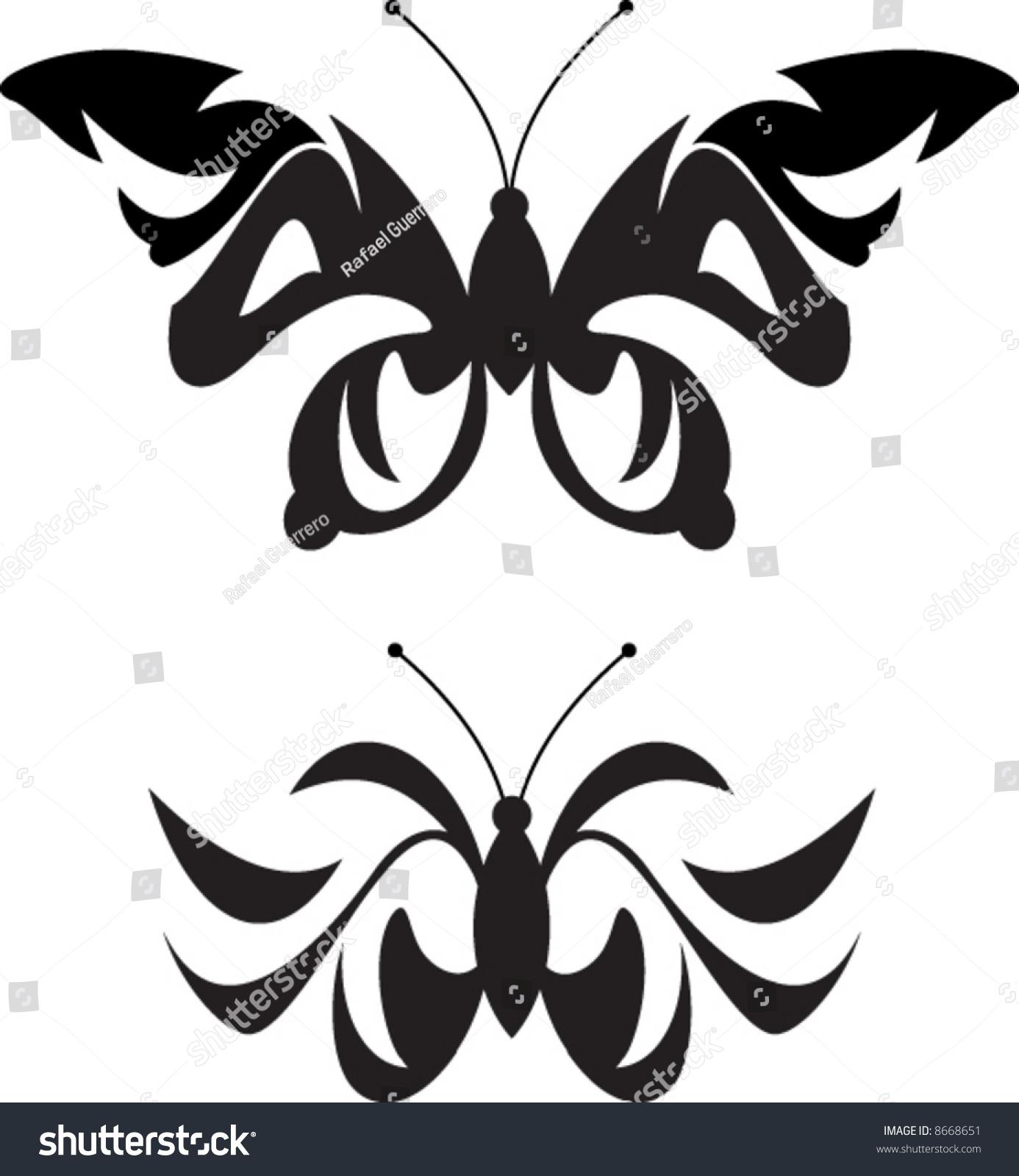 Mariposa Vector de stock (libre de regalías)8668651; Shutterstock