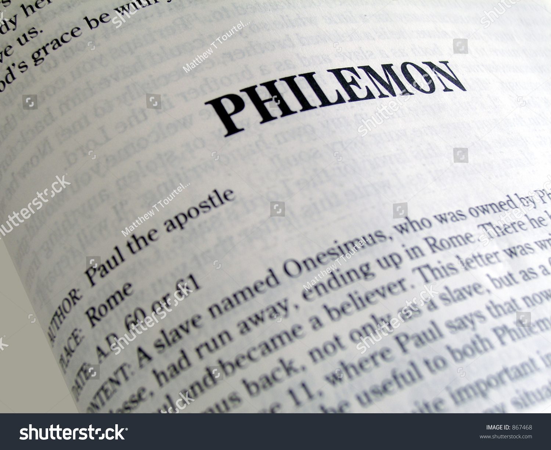 Philemon Summary - biblehub.com