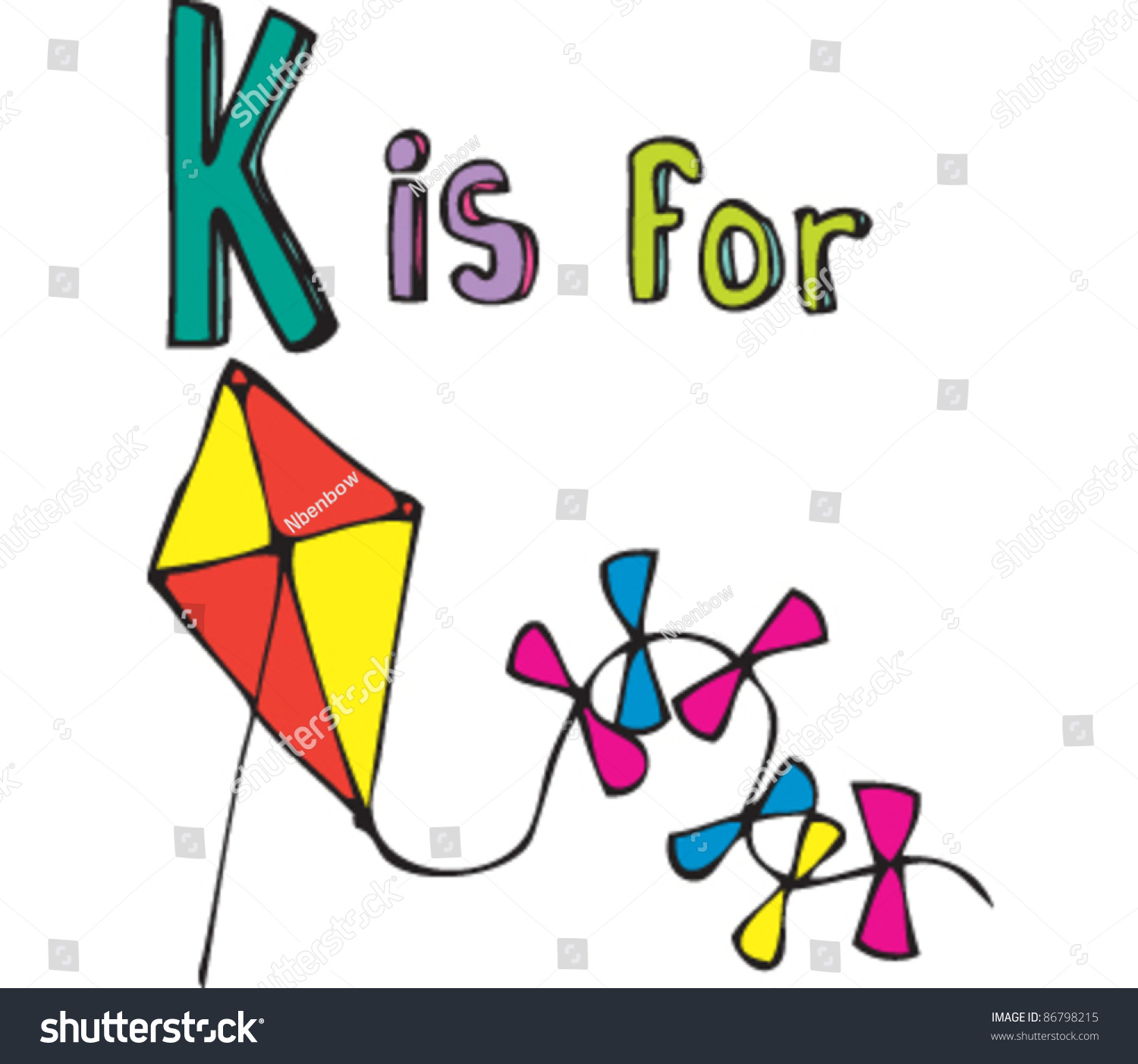 stock-vector-drawing-of-letter-k-is-for-kite-86798215 Opt Out Letter Template on pension email, participating form, training waiver, form for meals, permission slip for school,