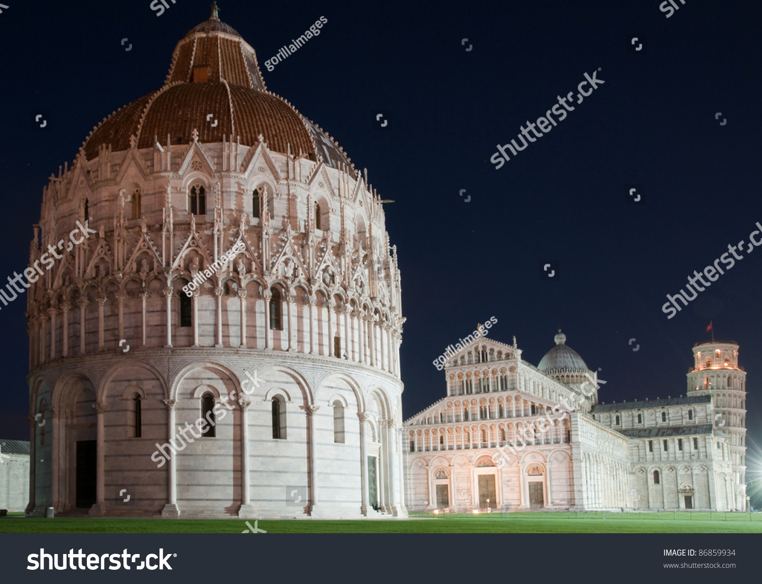 Pisa Travel Famous Places Europe Cathedral Stock Photo Download Now