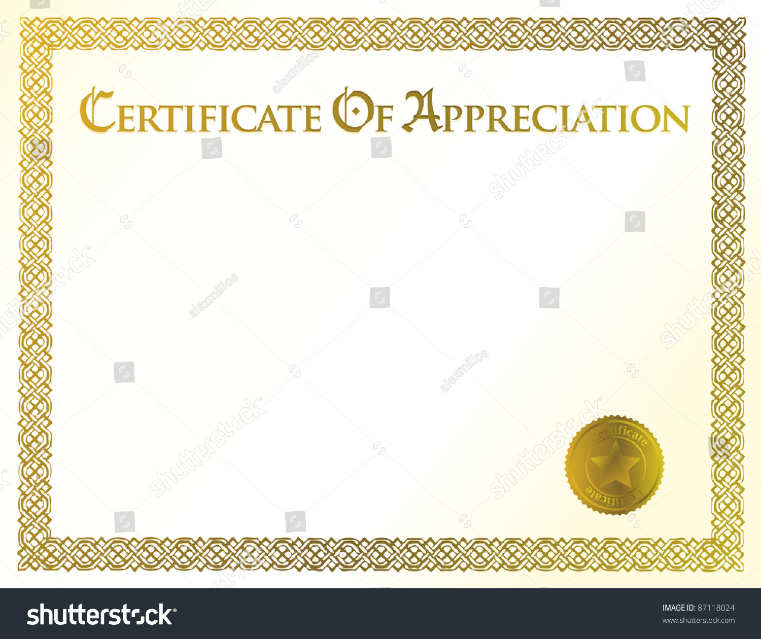 template for a certificate of achievement - certificate of achievement template just b cause