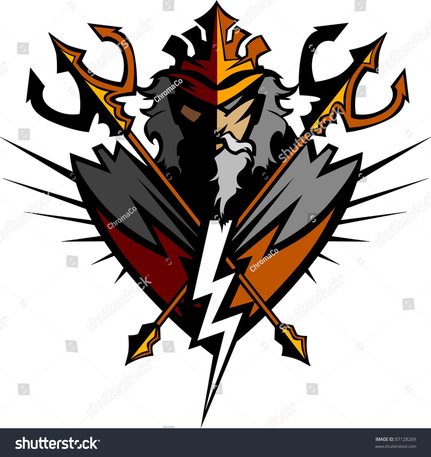 Greek Lightning Bolt