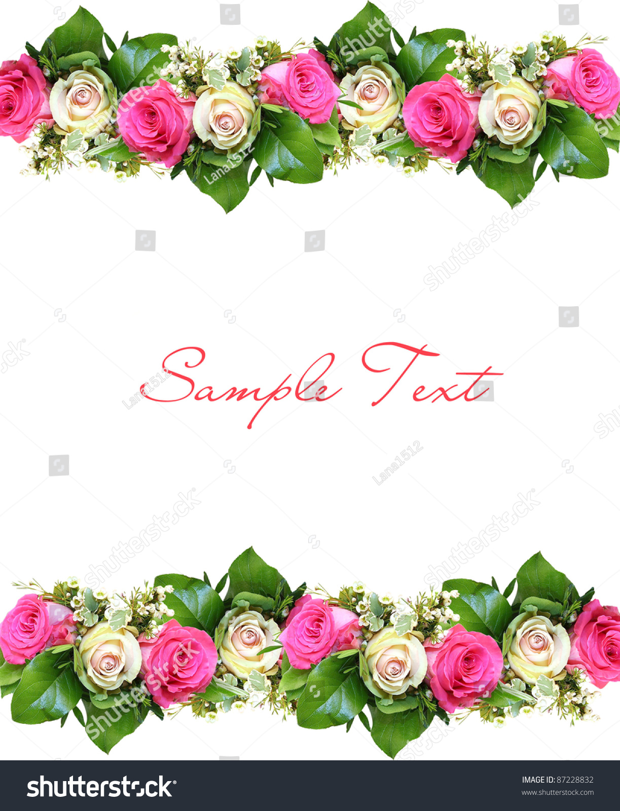 Flower Background With Structure Stock Shutterstock