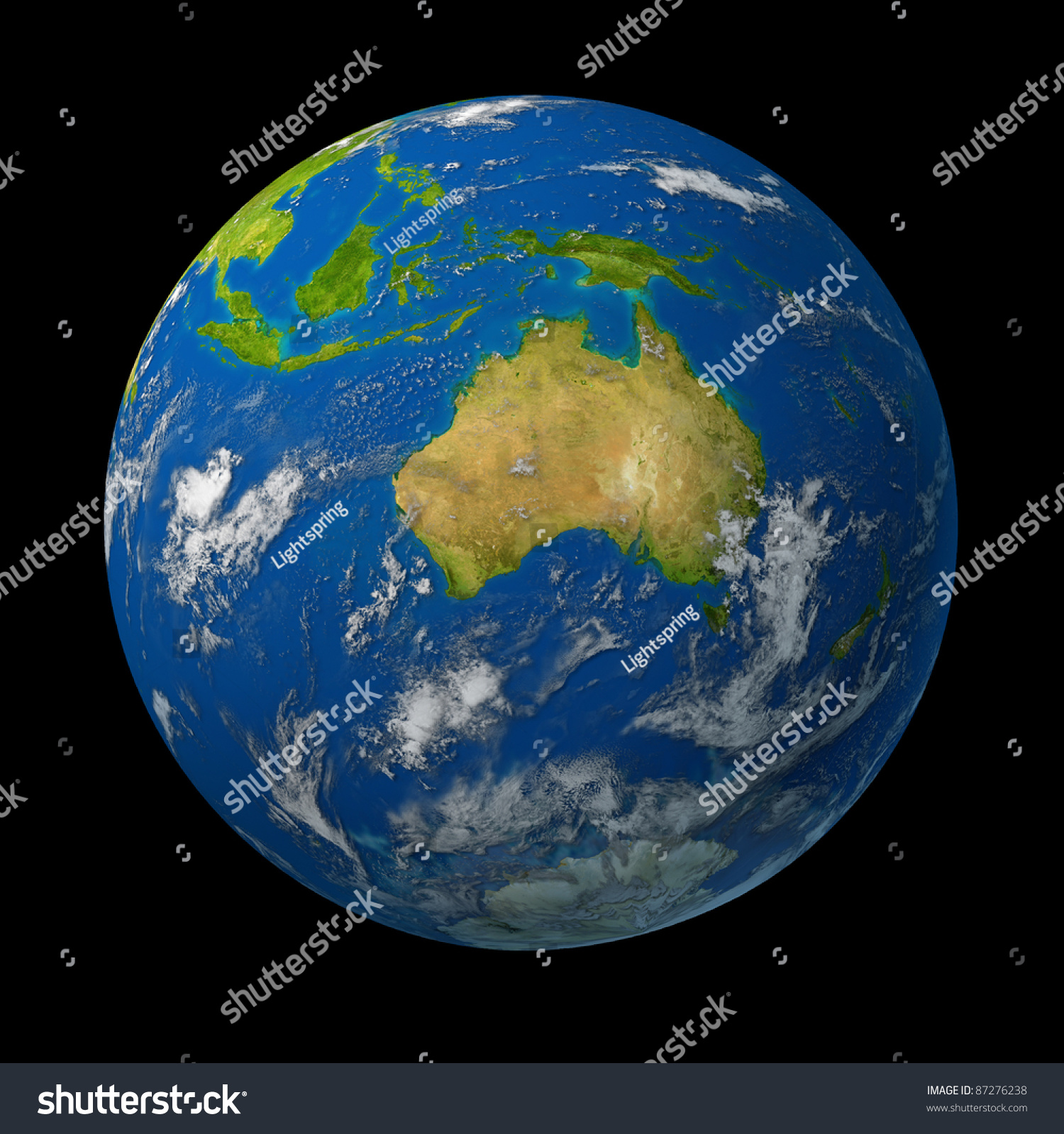 Australia On Earth Globe Representing Australian – Melbourne Australia World Map