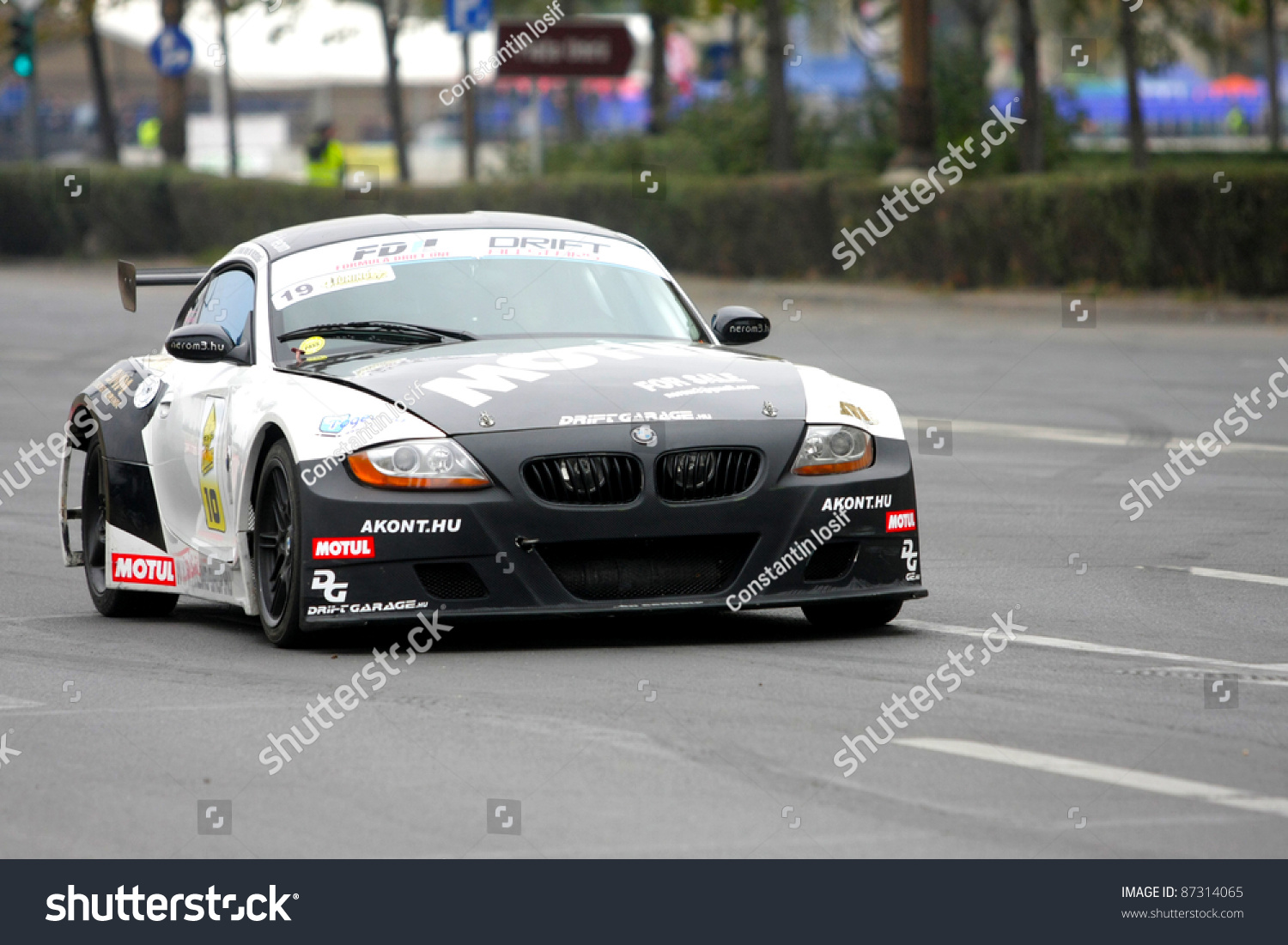 bucharest romania nikolett szanto drives a bmw z4 at drift grand prix of romania on. Black Bedroom Furniture Sets. Home Design Ideas