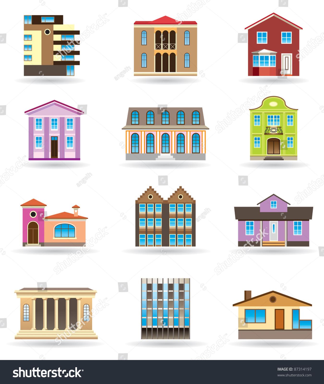 Многоквартирный дом с разных ракурсов |