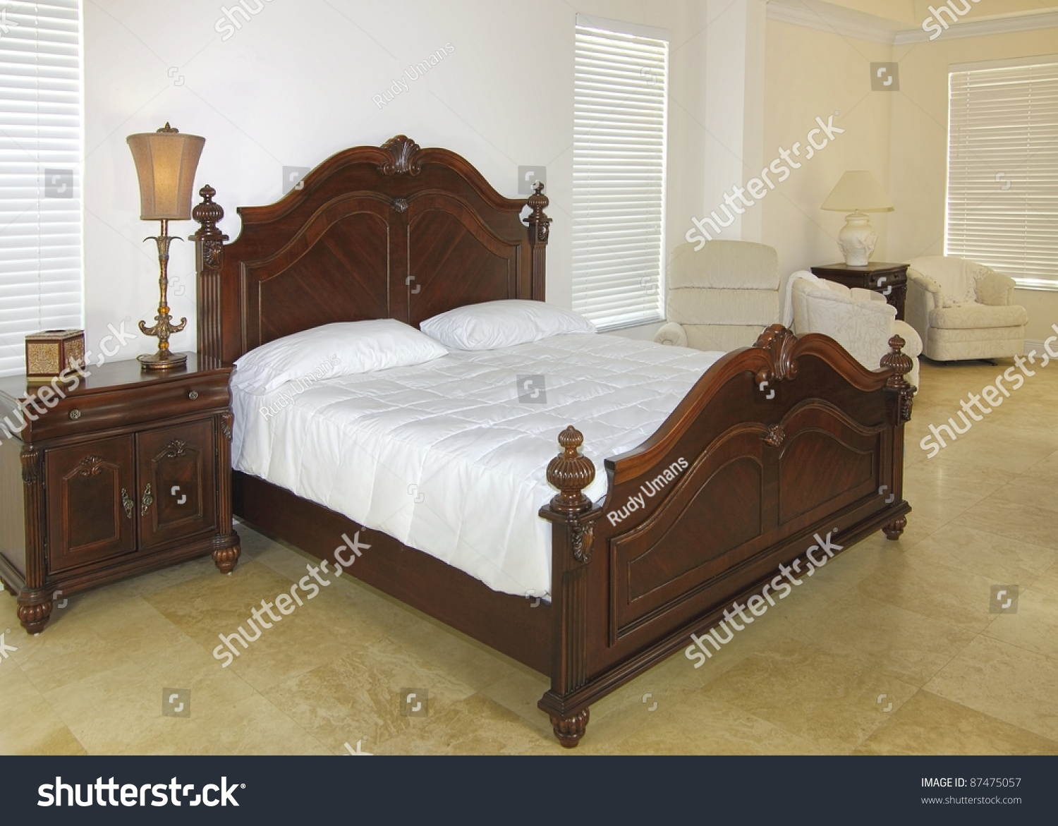 Overview Beautiful Classic Bedroom Suite Private Stock Photo 87475057    Shutterstock