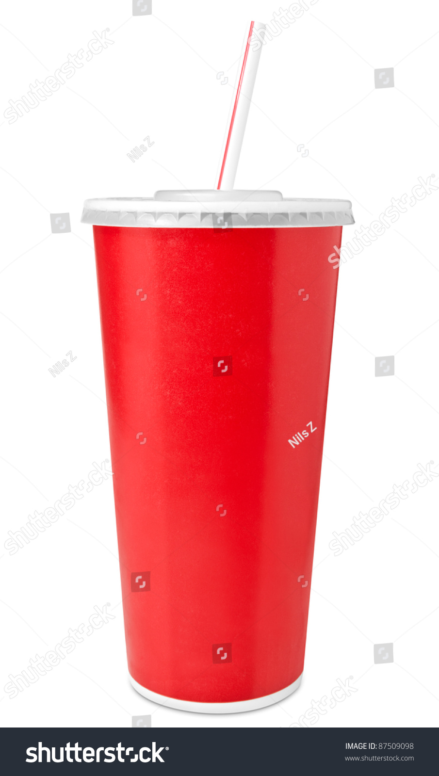 fast food cup drinking shutterstock